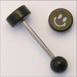 Barbell Smily mit Titanstab